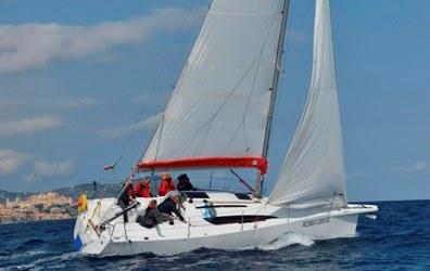 scuola di vela cabinato