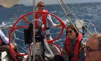 weekend barca vela in Corsica